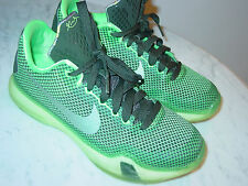 """2014 Nike Kobe X """"Poison"""" Poison Green/Sequoia/Volt Youth Shoes! Size 4Y"""