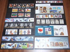 GB 2008 COMPLETE YEAR 11 SETS OF COMMEMORATIVE STAMPS PLUS 5 MINI SHEETS UM/MNH
