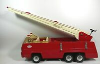 Vintage Tonka Swivel Aerial Ladder Fire Truck Pressed Steel
