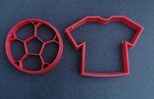 football cookie cutter set biscuit shirt Fondant baking decoration playdoh