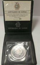 1969 Guinea 250 Francs - Apollo 11 Moon Landing,  .999, .4637 ASW Proof in Vinyl