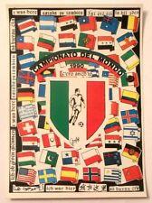 Cartolina Campionato Del Mondo 1990 - C'Ero Anch'Io Stemma Scudetto Italiano