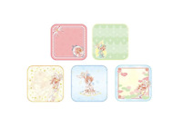 Card Captor Sakura Twinkle Color Collection F Award hand towel 5 set from JAPAN