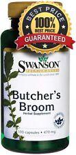 Butcher's Broom 470mg x 100 Capsules ** AMAZING PRICE ** 24HR DISPATCH