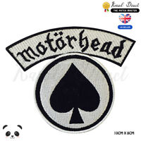 Motor Head Music Band Embroidered Iron On Sew On Patch Badge For Clothes etc