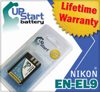 Battery for Nikon EN-EL9 EN-EL9A EN-EL9E D40 D60 D5000