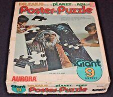 Planet Of The Apes Pota Giant Poster Puzzle Dr. Zaius Aurora Complete W Box 5208