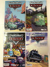 Cars: Radiator Springs #1 2 3 4 Comic Book Set B Disney Boom! 2009