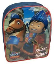 New Mike The Knight Horse Boys Kids Blue Backpack Childrens School Bag BNWT