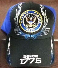 U.S. UNITED STATES NAVY CAP HAT SINCE 1775 NEW