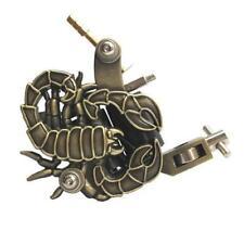 Bronzo Oro Scorpione Professionale Macchina per Tatuaggi Potenza Scorta Gun Clip