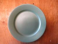 """WSP Portugal CASA VERDE Dinner Plate 10 7/8"""" Green Terra Cotta    3 available"""