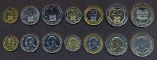 KENYA COMPLETE COIN SET 50+50 Cents +1+5+10+20+40 Shillings 1997-2010 UNC LOT 7