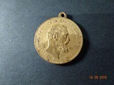 Medaille Deutschland Kaiserreich Friedrich III 1888 lerne Leiden.....