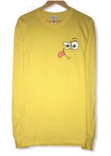 Vtg Spongebob Squarepants Universal Studios Men's Size L Long Sleeve T-Shirt NWT