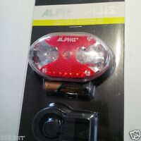 ALPHA PLUS Rear Light Super Bright 9 LED with reflector