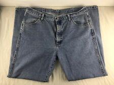 Rustler Straight Leg Jeans Black Denim Mens Size 38 x 32