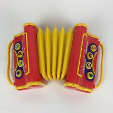 The Wiggles Musical Singing Play Vintage Pretend Toy Accordian 90s