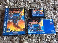 Mega Turrican Sega Mega Drive System Complete Boxed UK PAL (see description)