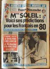▬►FRANCE DIMANCHE 1739 (1980) EVELYNE LECLERCQ_RINGO_DALIDA_KAREN CHERYL