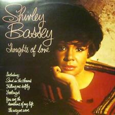 Shirley Bassey(Vinyl LP)Thoughts Of Love-United Artist-UAS 30011-UK-Ex-/Ex