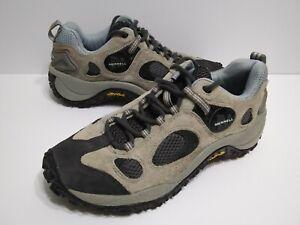 Merrell Chameleon Ventilator Low Grey Womens 9 Suede Hiking Shoes Outdoor