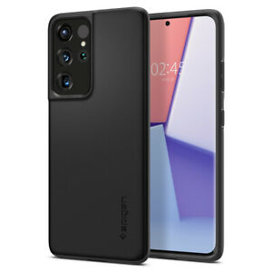 Galaxy S21 S21 Plus S21 Ultra Case | Spigen®[Thin Fit] Shockproof Slim Hard Case
