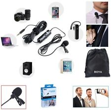 BOYA BY-M1 3.5mm Lavalier Microphone for Smartphone and Cameras with Mic Port