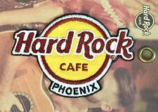 Hard Rock Cafe PHOENIX 2017 Classic HRC Logo PATCH on Card is NEW! Iron/Sew ON