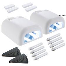2 x Lampe UV Ongles Lampe UV Manucure Kit