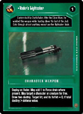 Vader's Lightsaber [played] PREMIERE LIMITED BB star wars ccg swccg zz