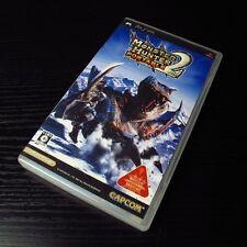 PSP Monster Hunter Portable 2nd Playstation Portable JAPAN Import UMD #0102