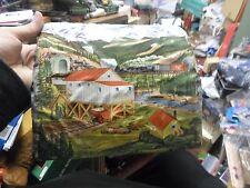 OLD TIN PLATE MARX COVERED  BRIDGE O SCALE,