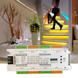 Automatic LED Stair Lighting system 32 Channel For automatic illumination stair