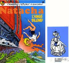 WALTHERY NATACHA #16 EO+EX-LIBRIS 300 ex. n°/signés