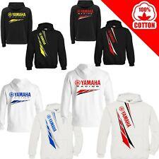 Felpa Yamaha Premium Cappuccio moto gp MT 03 07 09 10 uomo maglia maglietta