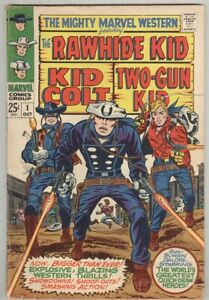 Mighty Marvel Western #1 October 1968 VG Rawhide Kid, Kid Colt – Giant Size