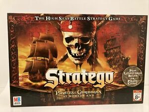 Stratego Game Disney Pirates of the Caribbean at World's End 100% Complete