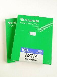 Fujifilm Astia 100 RAP 4x5 Sheet Film - 10 Sheets