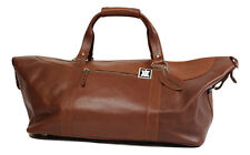 Sports/weekend/bagage à main en cuir véritable Marron+PERSONNALISATION OFFERTE