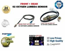 FOR FORD FIESTA ST150 2004-2008 FRONT+ REAR PRE POST CAT 02 OXYGEN LAMBDA SENSOR