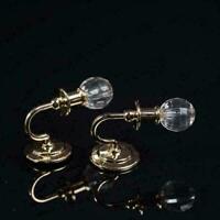 1:12 Doll House Miniature Wall Lamp Light Model Wall Hot Accessories Furnit D9M1