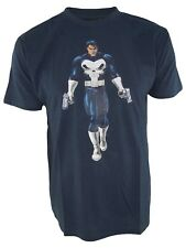 hobby&work tshirt uomo blu marvel official product the punisher taglia large l
