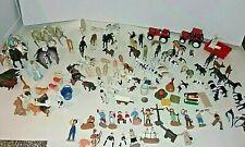 HUGE Lot over 100 Various animals people Schleich, safari, JARU, Empire,