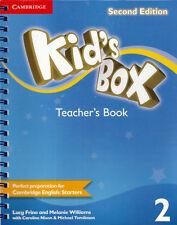 Cambridge KID'S BOX Level 2 2nd Edition Teacher's Book (YLE Starters) @NEW@