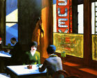 Chop Suey Restaurant Edward Hopper Coffee Bar USA 16X20 Vintage Poster FREE S/H