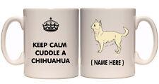 CHIHUAHUA DOG PERSONALISED MUG YOUR TEXT GIFT PRESENT  BREED BIRTHDAY CHRISTMAS
