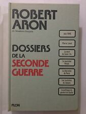 DOSSIERS DE LA SECONDE GUERRE MONDIALE 1976 ROBERT ARON ILLUSTRE