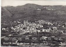 SAVONA BORGIO VEREZZI 22 VEDUTA AEREA Cartolina FOTOGRAFICA viaggiata 1957