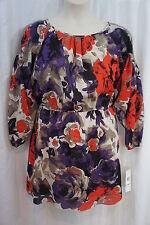 "Nine West Petite Dress Sz 14P Multi Color Gerber Combo ""Street Smart"" Business"